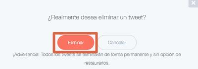 Cómo borrar tweets antiguos con Tweet Deleter paso 4