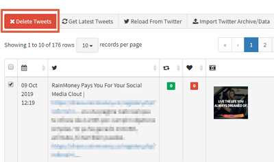Cómo borrar tweets antiguos con TweetEraser paso 4