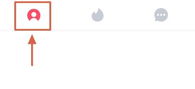 Cómo editar la información de perfil en Tinder paso 1