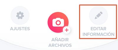 Cómo editar la información de perfil en Tinder paso 2
