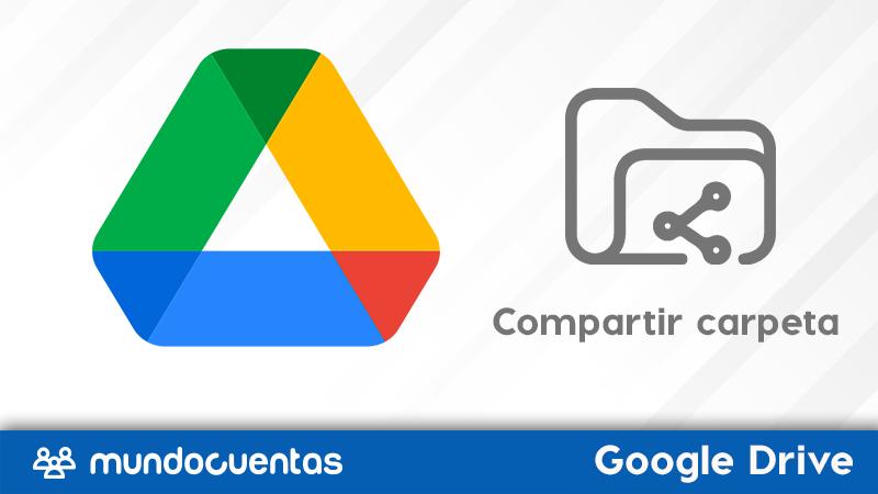 Cómo compartir una carpeta en Google Drive.