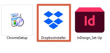 Cómo descargar Dropbox a ordenadores Windows paso 3