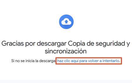 Cómo descargar Google Drive en una computadora Windows paso 4
