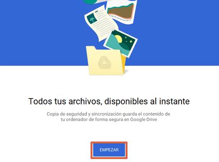Cómo descargar Google Drive en una computadora Windows paso 5