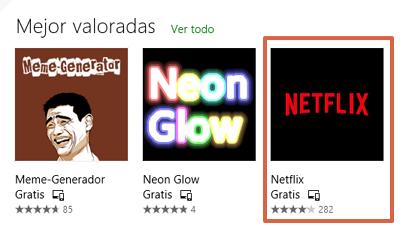 Cómo descargar Netflix para Windows paso 2