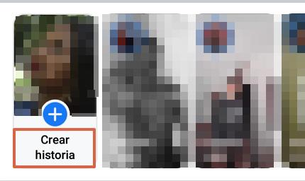 Cómo hacer una encuesta en Facebook a través de las historias y desde la app paso 2