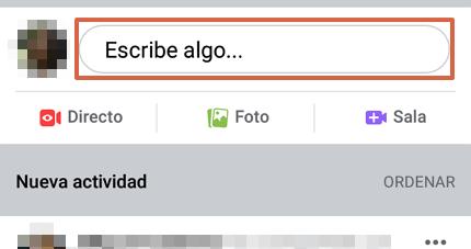 Cómo hacer una encuesta en Facebook desde la app y en un grupo paso 3