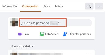 Cómo hacer una encuesta en Facebook desde la computadora y en un grupo paso 1