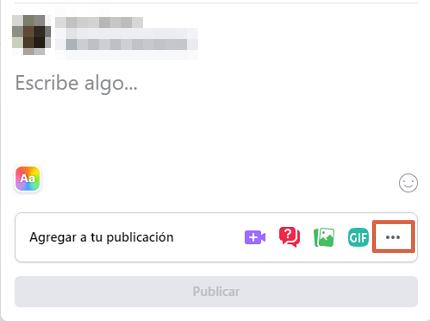 Cómo hacer una encuesta en Facebook desde la computadora y en un grupo paso 2