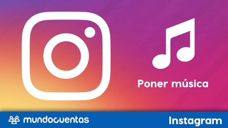 Cómo poner música en Instagram....