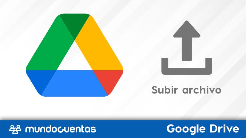 Cómo subir un archivo a Google Drive.
