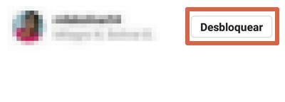 Desbloquear a alguien en Instagram desde configuración de perfil paso 7