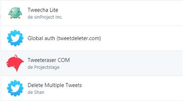 Revocar permisos de apps en Twitter paso 4