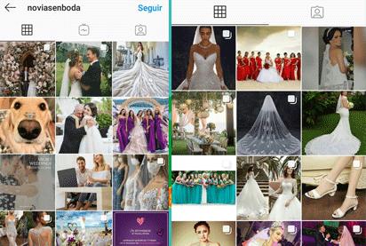 cuentas de novias en Instagram