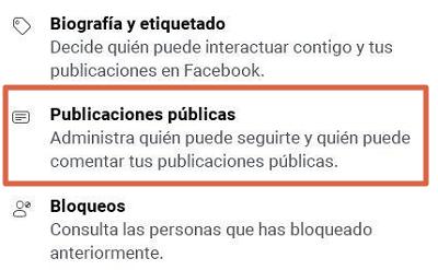 Activar la opción de seguidores en Facebook para que te empiecen a seguir en Facebook Lite paso 3