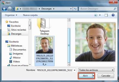 Buscar y encontrar personas en Facebook por foto con TinEye paso 2