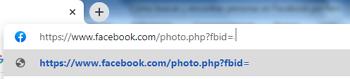 Buscar y encontrar personas en Facebook por foto con el código numérico de la imagen paso 1