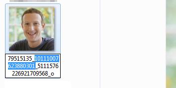 Buscar y encontrar personas en Facebook por foto con el código numérico de la imagen paso 3