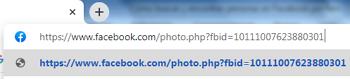 Buscar y encontrar personas en Facebook por foto con el código numérico de la imagen paso 4