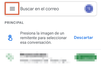 Cómo acceder al Correo de Movistar desde la aplicación de Gmail paso 1