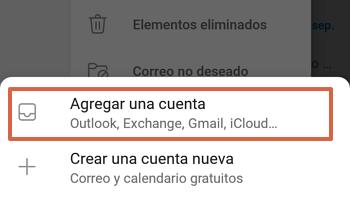 Cómo acceder al Correo de Movistar desde la aplicación de Outlook paso 4