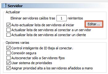 Cómo actualizar los servidores en eMule paso 4