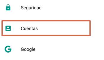 Cómo agregar el Correo de Movistar al teléfono Android paso 2