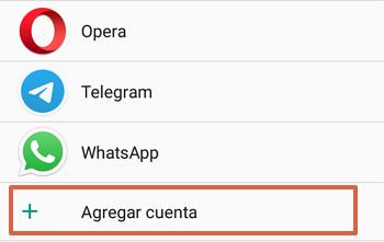 Cómo agregar el Correo de Movistar al teléfono Android paso 3