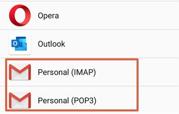 Cómo agregar el Correo de Movistar al teléfono Android paso 4