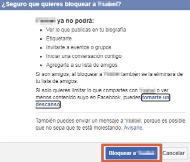 Cómo bloquear sugerencias de amistad en Facebook paso 7