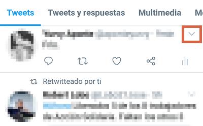 Cómo borrar tweets individualmente en Twitter desde el teléfono paso 3