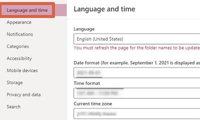 Cómo cambiar el idioma de Outlook desde el ordenador paso 5