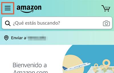 Cómo cancelar la suscripción de Amazon Prime desde la app paso 2