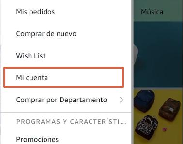 Cómo cancelar la suscripción de Amazon Prime desde la app paso 3