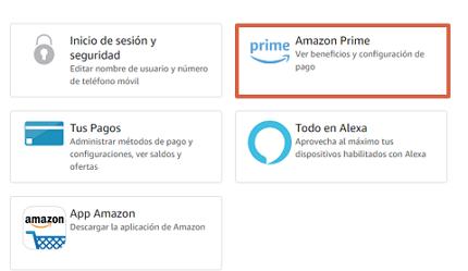 Cómo cancelar la suscripción de Amazon Prime desde la computadora paso 4