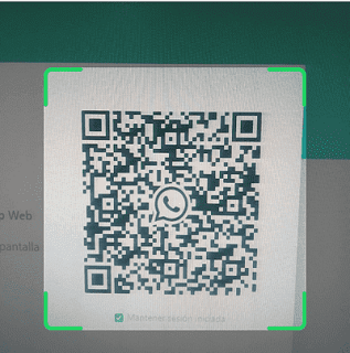 Cómo conectar el teléfono a WhatsApp web paso 4