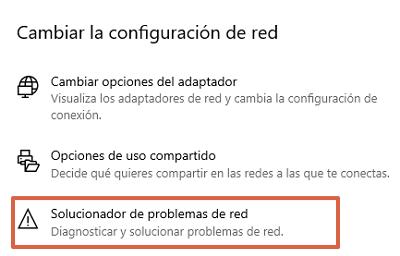 Cómo conectarse a Internet utilizando el Solucionador de problemas de conexión a red paso 3