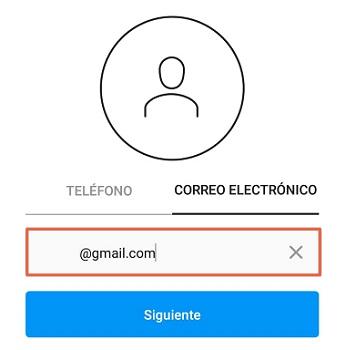 Cómo crear una cuenta en Instagram si no me deja hacerlo paso 3
