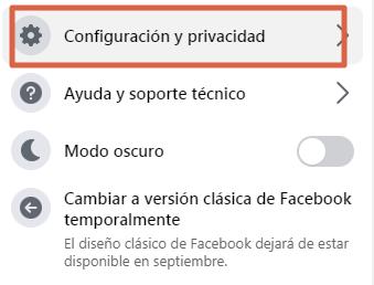 Cómo desactivar la opción Seguidores en Facebook paso 2