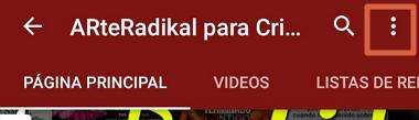 Cómo desbloquear un usuario bloqueado en YouTube desde el móvil paso 3
