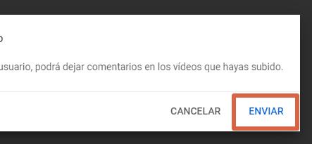 Cómo desbloquear un usuario bloqueado en YouTube desde la PC paso 6