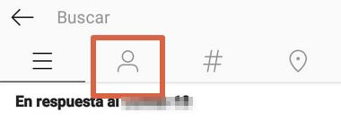 Cómo desbloquear un usuario que fue bloqueado en Instagram desde el celular método 2 paso 4