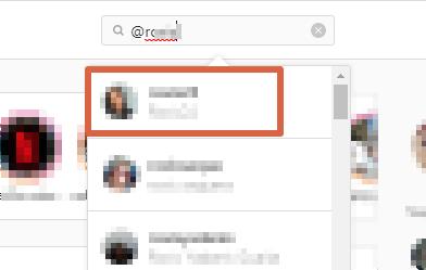 Cómo desbloquear un usuario que fue bloqueado en Instagram desde la PC paso 4