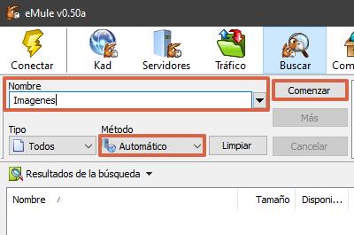 Cómo descargar archivos en eMule paso 3