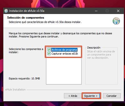 Cómo descargar e instalar eMule paso 6