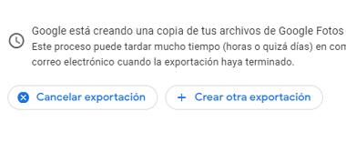 Cómo descargar todas las fotos desde Google Fotos al ordenador paso 5.1