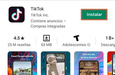 Cómo descargar y usar TikTok en la PC con MEmu paso 6