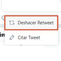 Cómo deshacer un retweet en Twitter paso 2