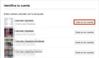 Cómo recuperar una cuenta de Facebook robada con hackeada con contactos de confianza paso 3