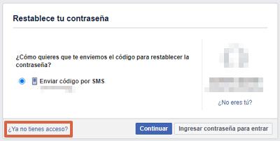 Cómo recuperar una cuenta de Facebook robada con hackeada con contactos de confianza paso 6